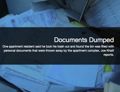 Resident Shocked to Find Hundreds of Personal Documents Dumped by Apartment Complex
